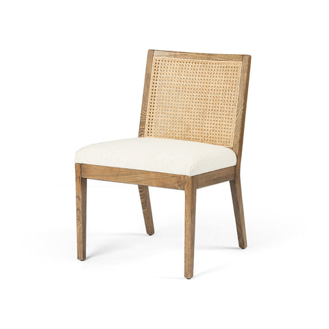Natural Cane Armless Dining Chair