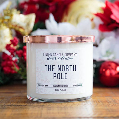 The North Pole 16oz Soy Candle