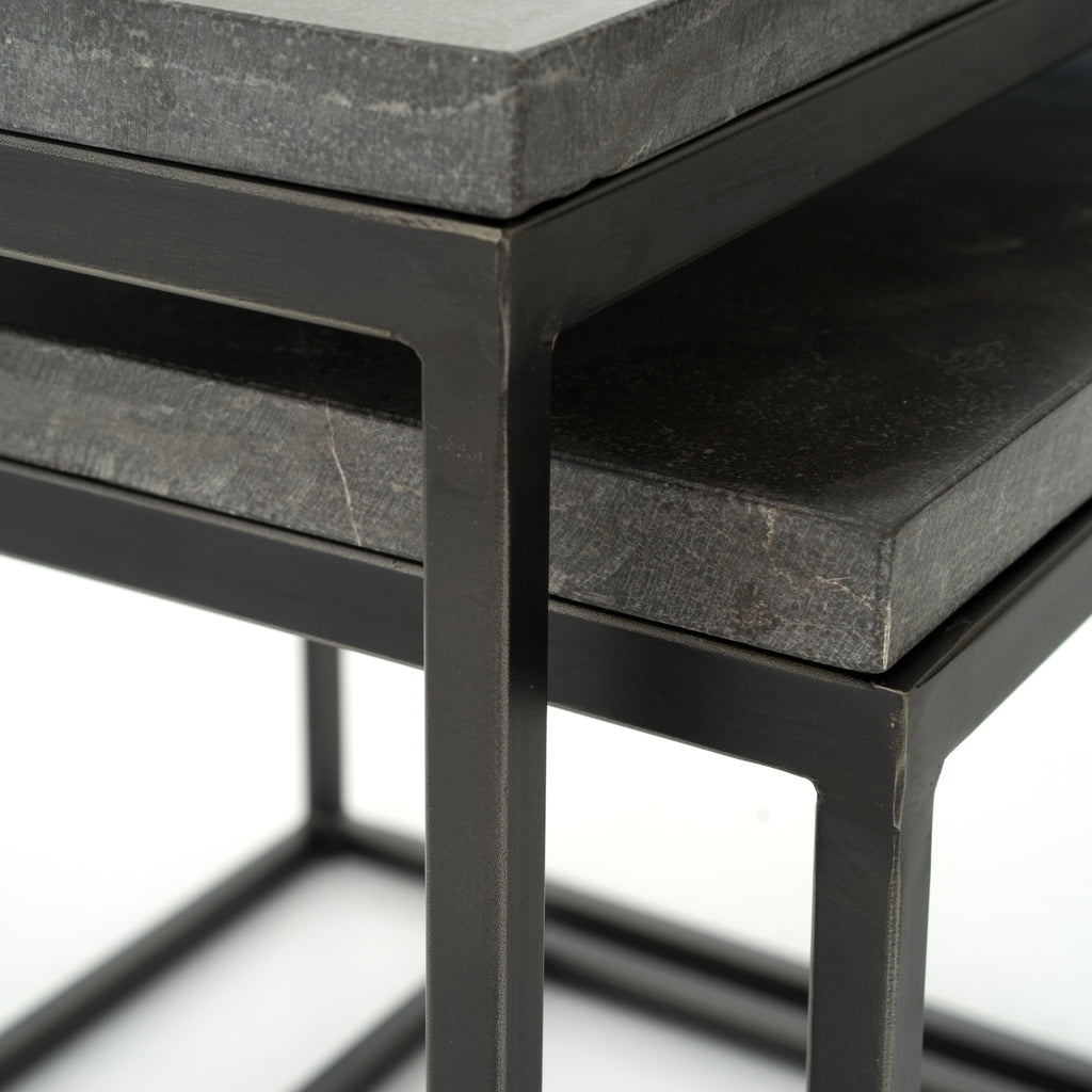 Parson's Bluestone Nesting Tables