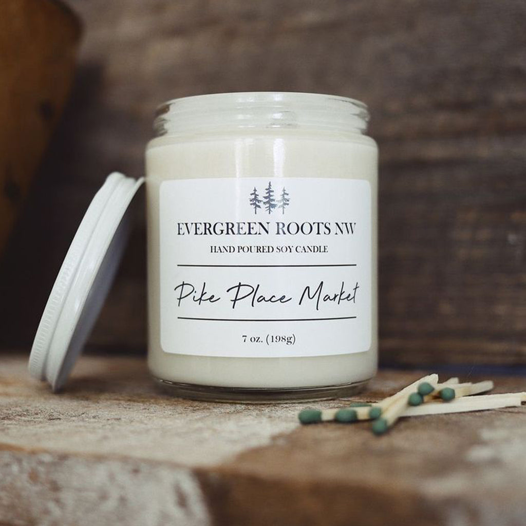 Pike Place Market 8 Oz Soy Candle