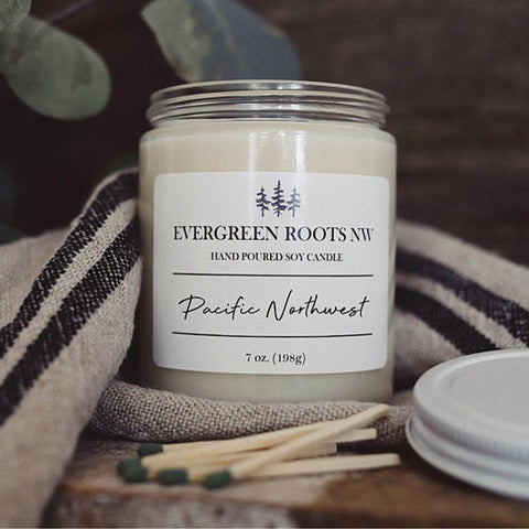 Pacific Northwest 8 oz Soy Candle