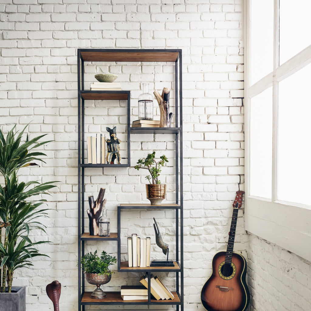 Reclaimed Symmetry Bookshelf
