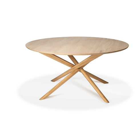 Oak Mikado Round Dining Table