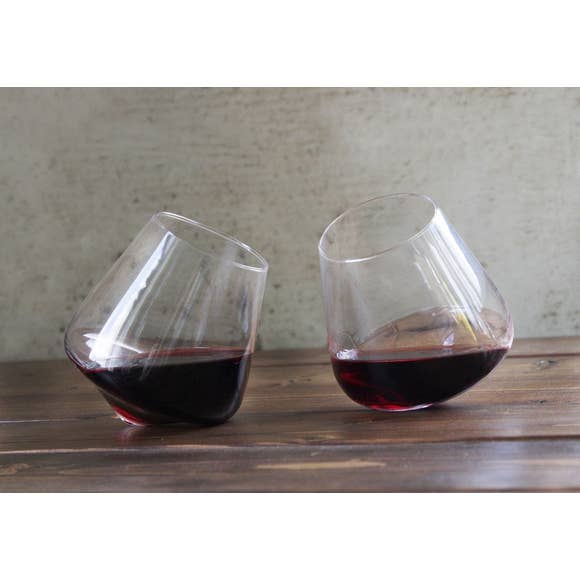 Swoon Revolving Wine Glasses