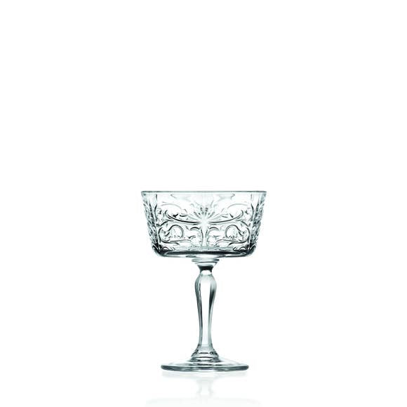 Eco Crystal Tattoo Champagne Glass