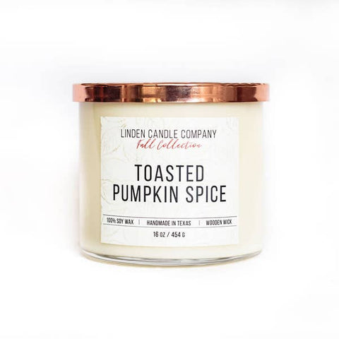 Toasted Pumpkin Spice 16oz Soy Candle