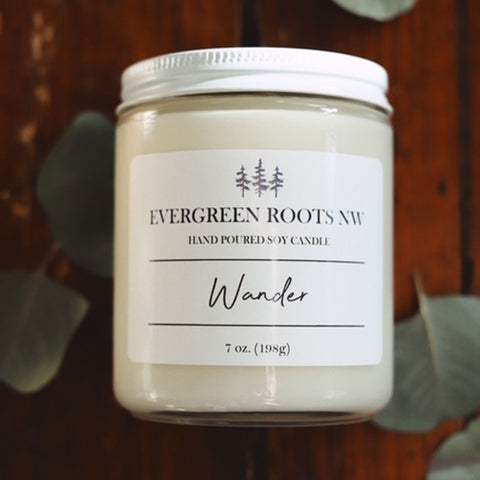 Wander 8 Oz Soy Candle