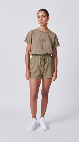 Essential Track Short - Olive