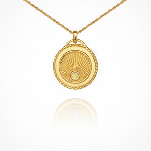 Aadi Necklace - Gold