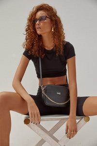 Dylan Kain - The Mini Rodriguez Bag Black/Light Gold