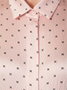 Silk Classic Blouse - Shooting Star