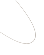 "Bespoke Curb Chain 22-25"" - Sterling Silver"