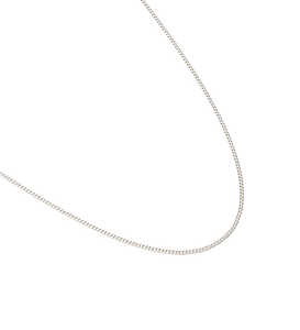 "Bespoke Curb Chain 16-18"" - Sterling Silver"