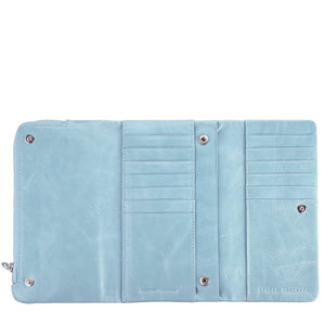 Status Anxiety Audrey Wallet - Sky