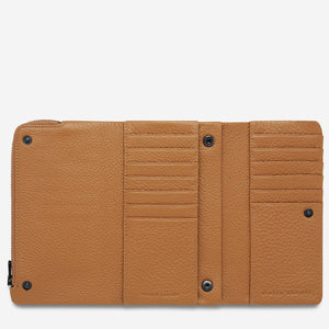 Status Anxiety Audrey Wallet - Tan Pebble