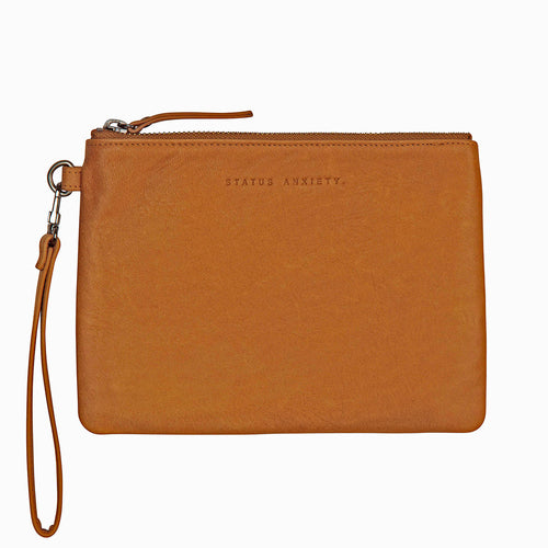 Status Anxiety Fixation Clutch - Tan
