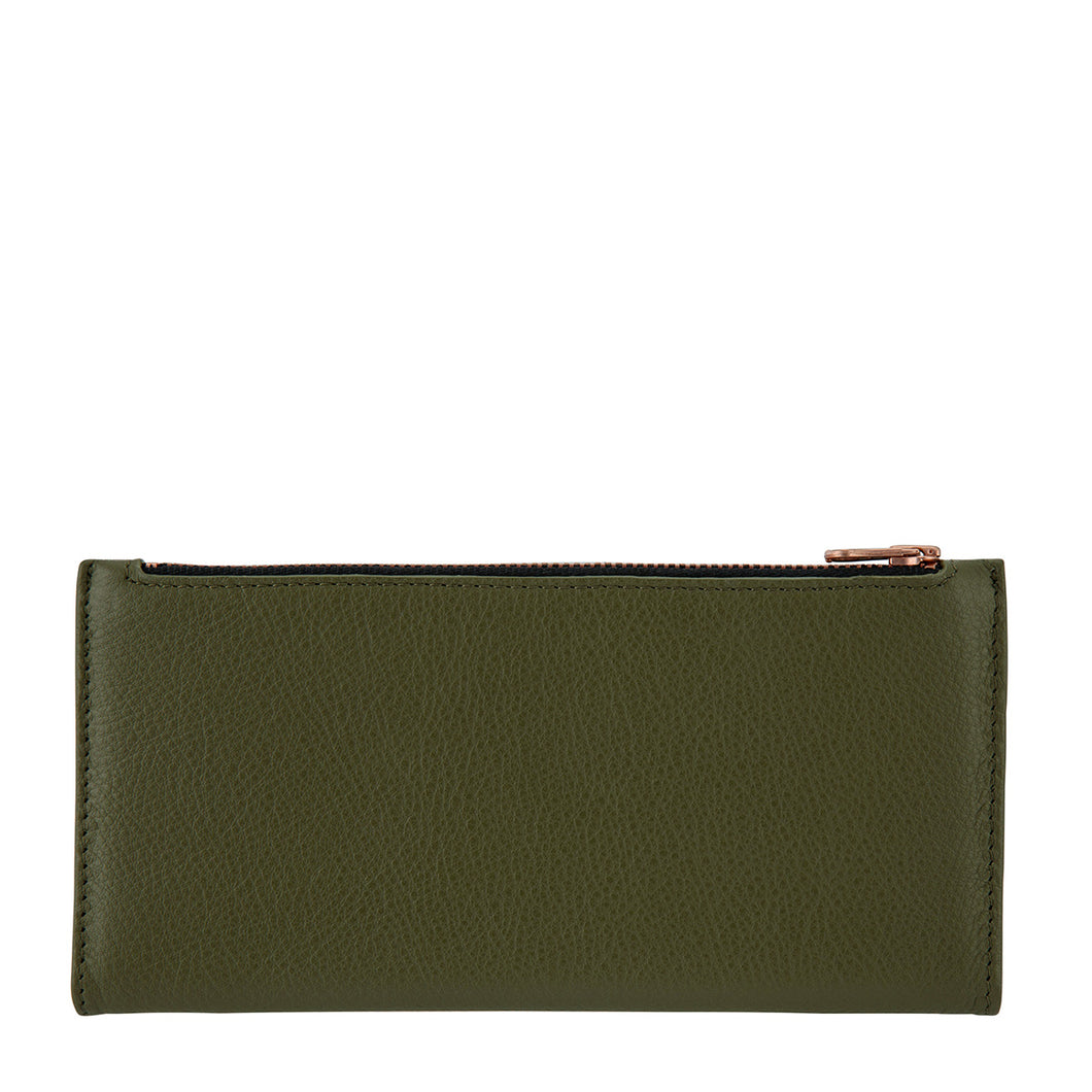 Status Anxiety In the Beginning Wallet - Khaki