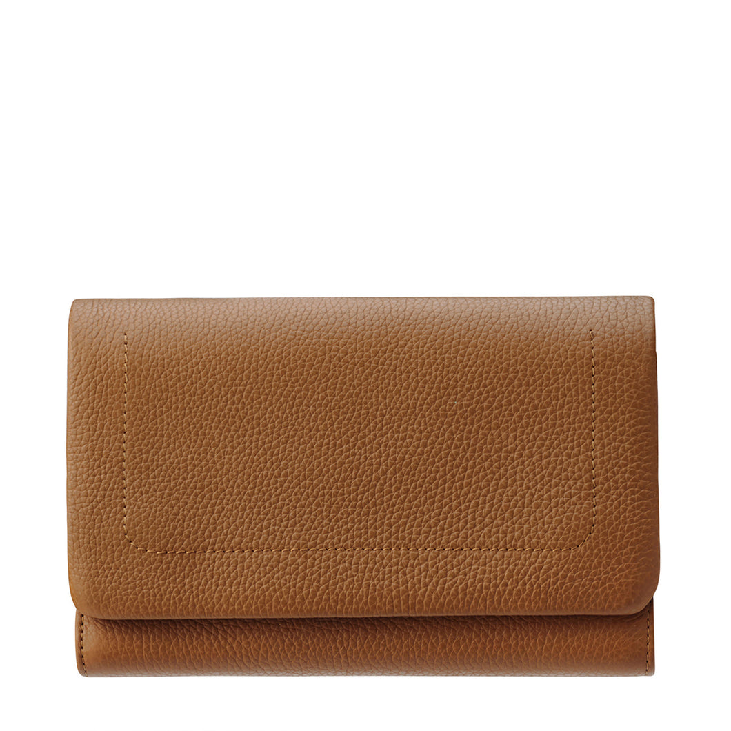 Status Anxiety Remnant Wallet - Tan