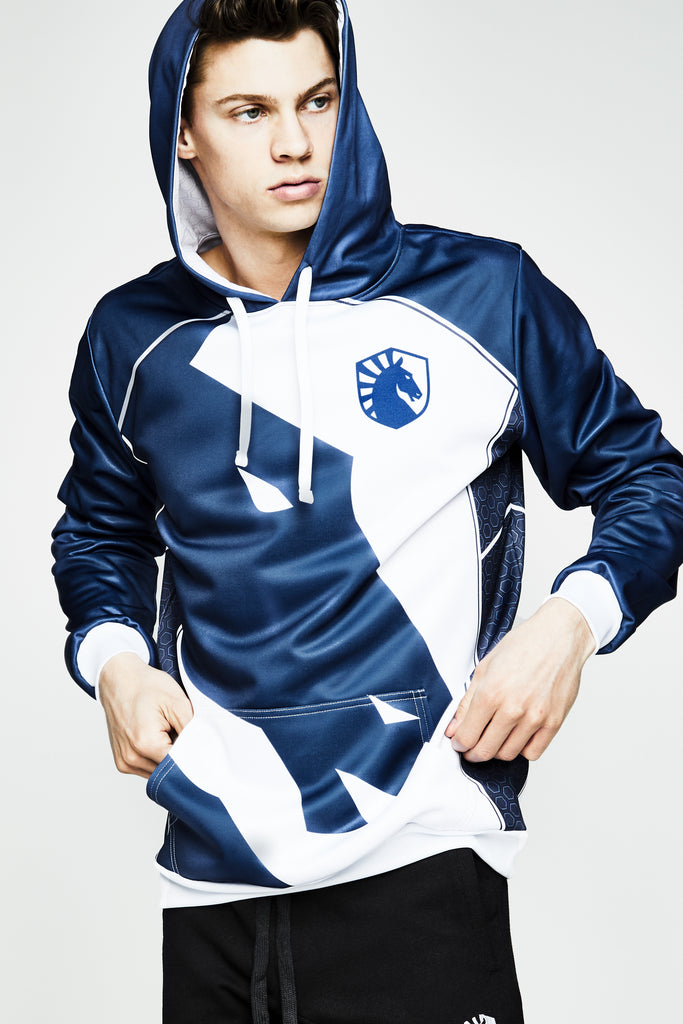 TEAM LIQUID OFFICIAL 2019 JERSEY HOODIE - Team Liquid