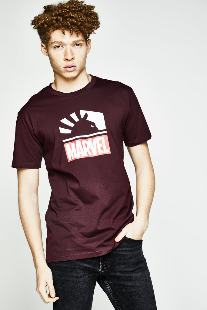 LIQUID x MARVEL LOGO SHORT SLEEVE TEE - Team Liquid