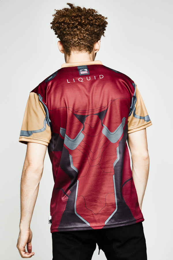 LIQUID x MARVEL IRON MAN JERSEY