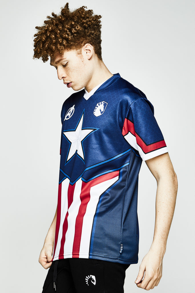 LIQUID x MARVEL CAPTAIN AMERICA JERSEY - Team Liquid