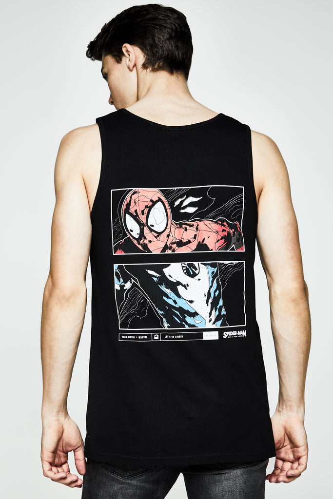 LIQUID x MARVEL SPIDER-MAN ARTWORK TANK - Team Liquid