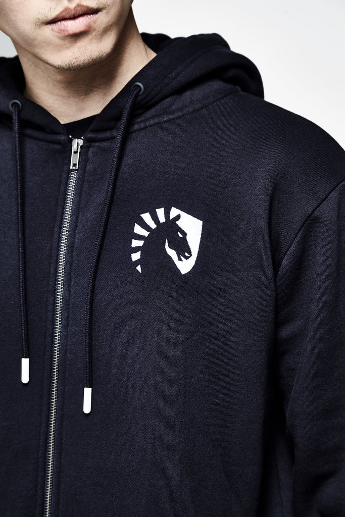 LIQUID CREST ZIP UP HOODIE - Team Liquid