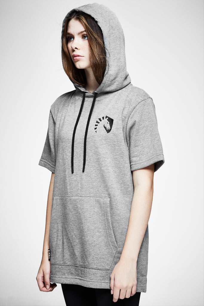 LIQUID HERITAGE SHORT SLEEVE HOODIE - Team Liquid
