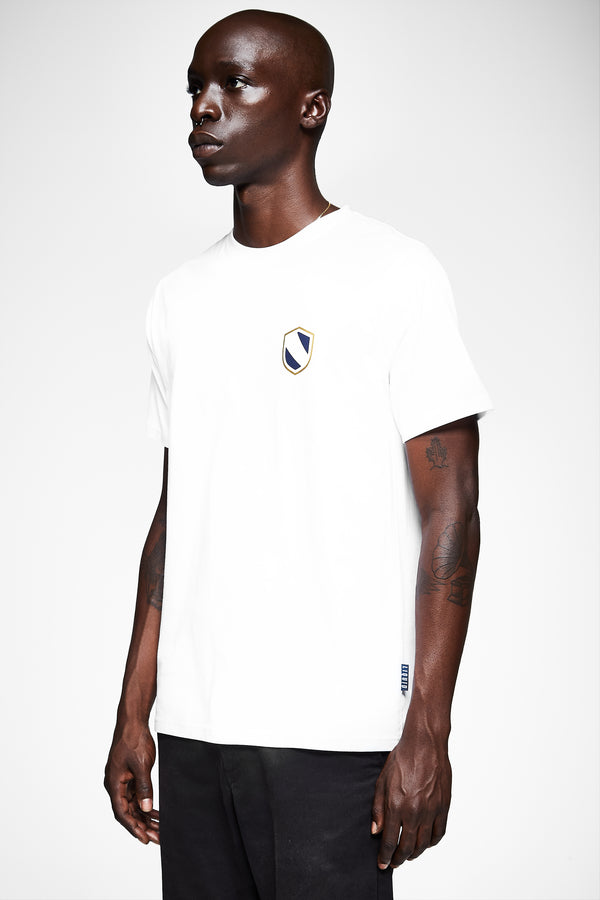 SHIELD EMBLEM SHORT SLEEVE TEE - WHITE - Team Liquid