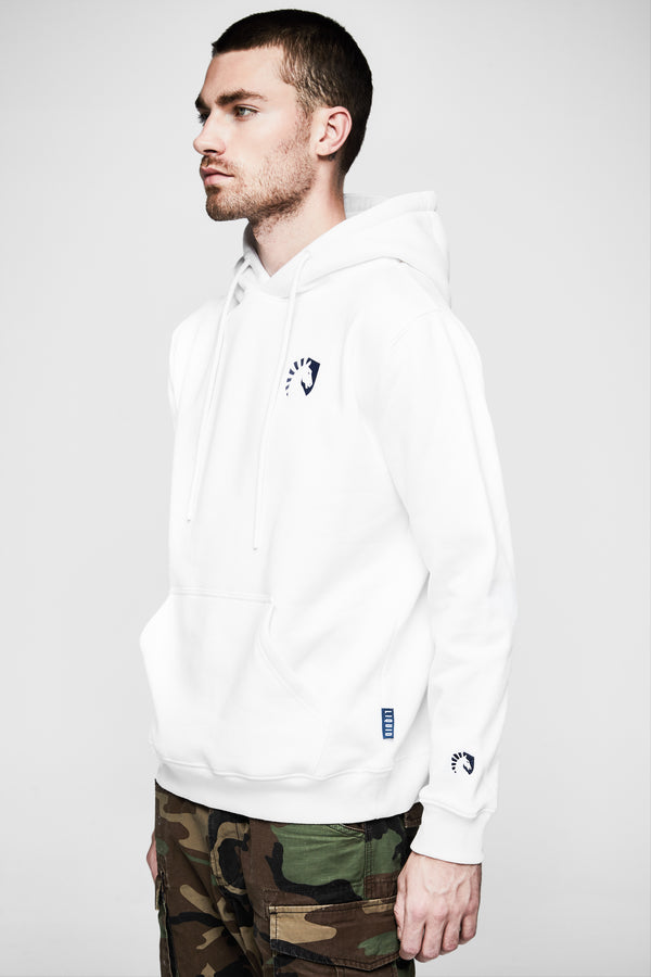 TL CORE PULLOVER HOODIE WHITE - Team Liquid
