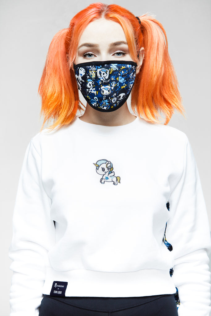 TOKIDOKI x LIQUID REVERSIBLE MASK - Team Liquid