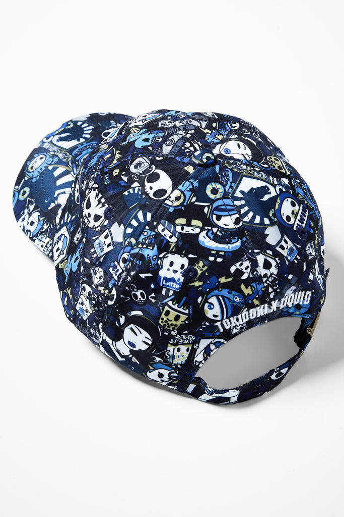 TOKIDOKI x LIQUID PATTERN DAD CAP - Team Liquid