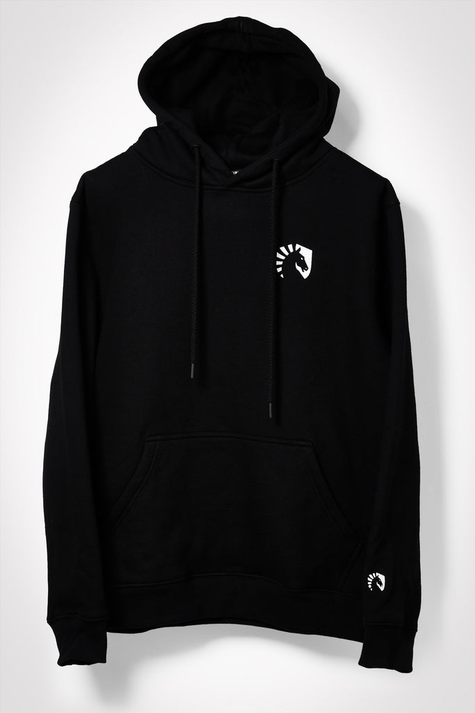 TL CORE PULLOVER HOODIE BLACK - Team Liquid