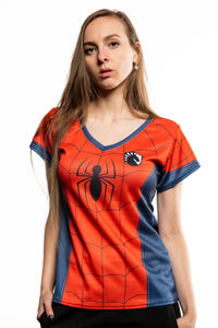 LIQUID x MARVEL Women's Spider-Man Jersey
