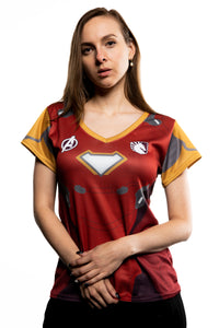 LIQUID x MARVEL Women's Iron Man Jersey
