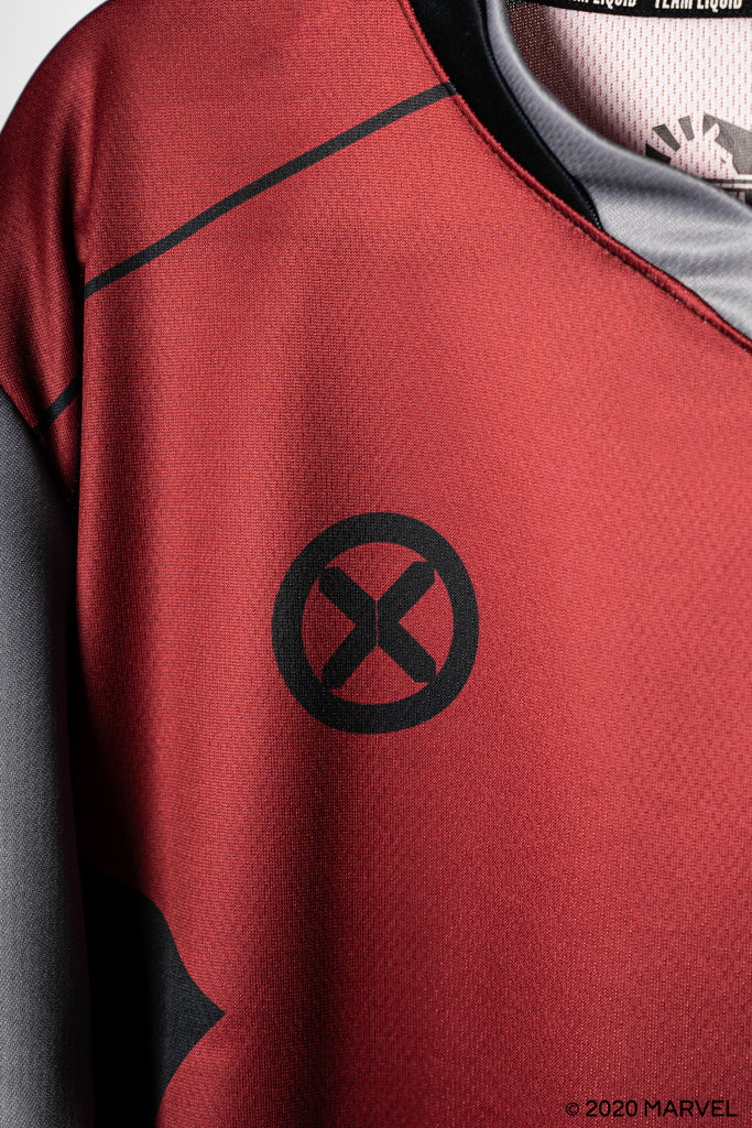 LIQUID x MARVEL X-MEN COLOSSUS LONG SLEEVE JERSEY - Team Liquid