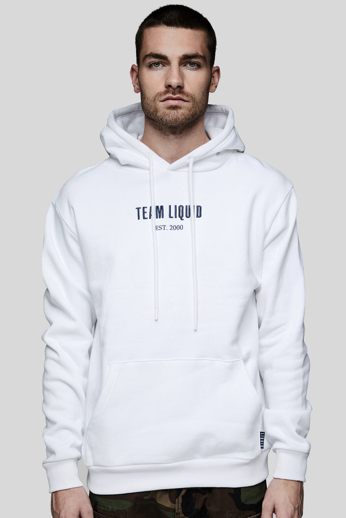 TEAM LIQUID ESTABLISHED HOODIE - WHITE - Team Liquid