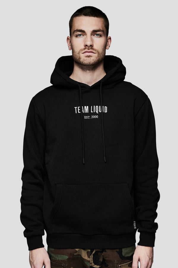 TEAM LIQUID ESTABLISHED HOODIE - BLACK - Team Liquid