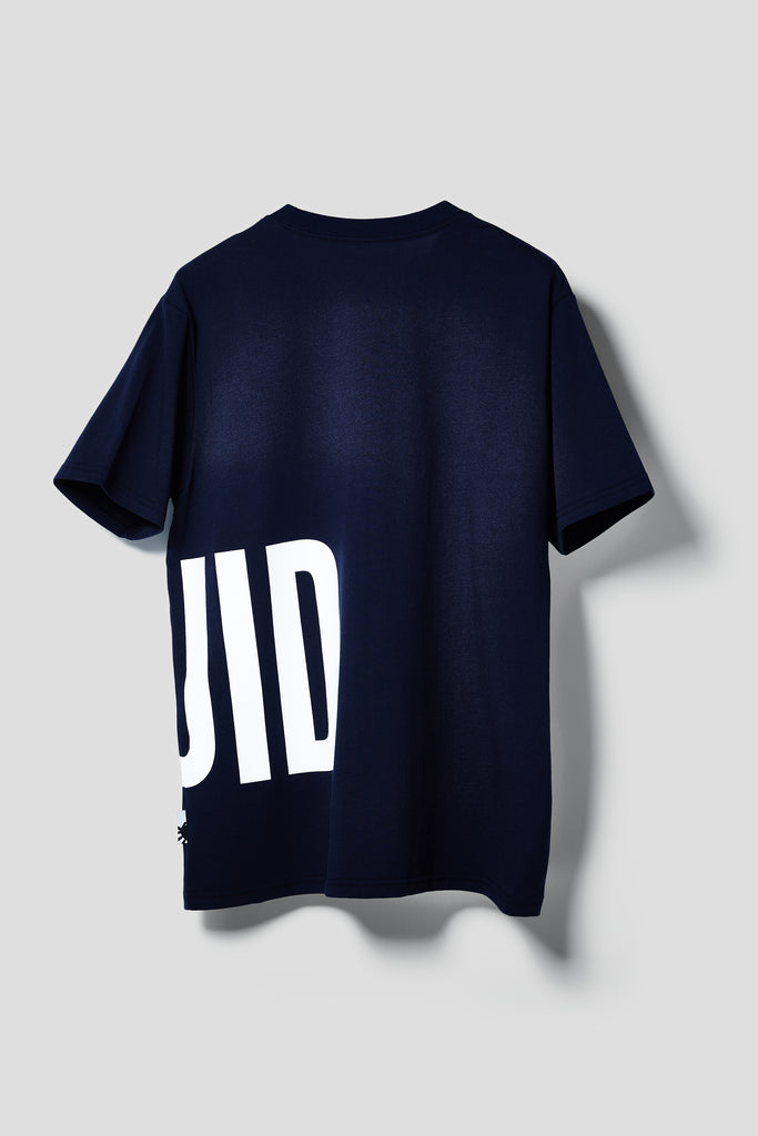 OVERSIZED WORDMARK SHORT SLEEVE TEE - NAVY - Team Liquid