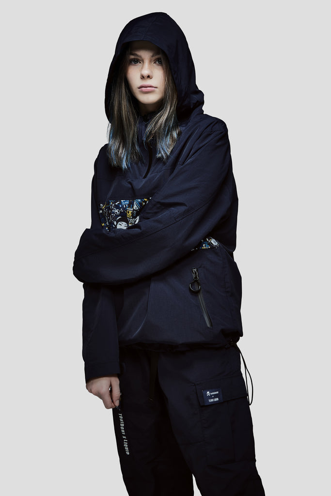 TOKIDOKI x LIQUID PATTERN ANORAK - Team Liquid