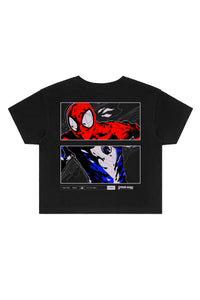 LIQUID x MARVEL Spider-Man Artwork Crop Tee