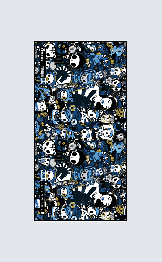 "TOKIDOKI x LIQUID MOUSEPAD 35 x 16"" - Team Liquid"
