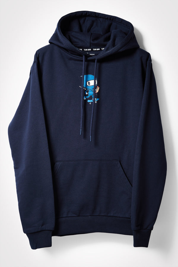 TOKIDOKI x LIQUID NINJA HOODIE - NAVY - Team Liquid