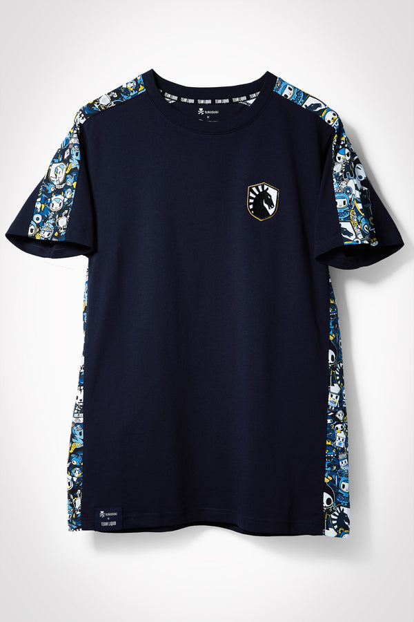 TOKIDOKI x LIQUID PATTERN SHORT SLEEVE TEE - Team Liquid