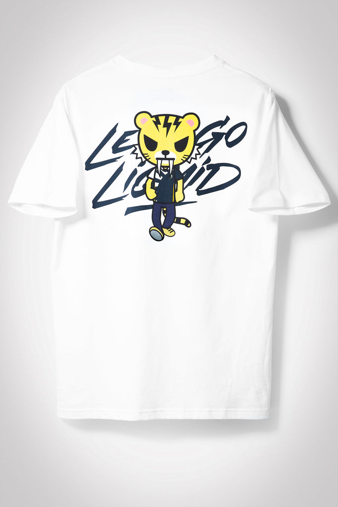 LIQUID X TOKIDOKI LET'S GO LIQUID TIGER SHORT SLEEVE TEE - Team Liquid