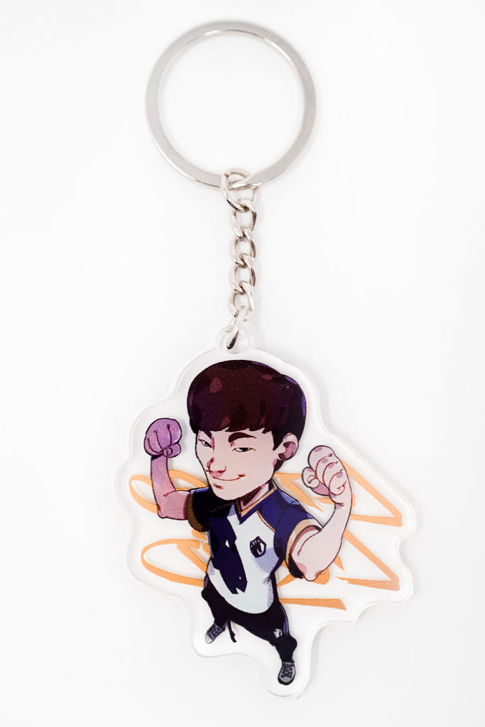 LEAGUE OF LEGENDS 2019 PLAYER KEYCHAIN - Team Liquid