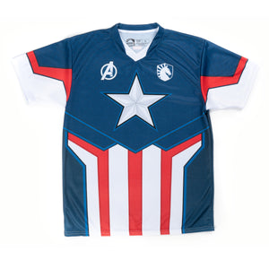 LIQUID x MARVEL Captain America Jersey