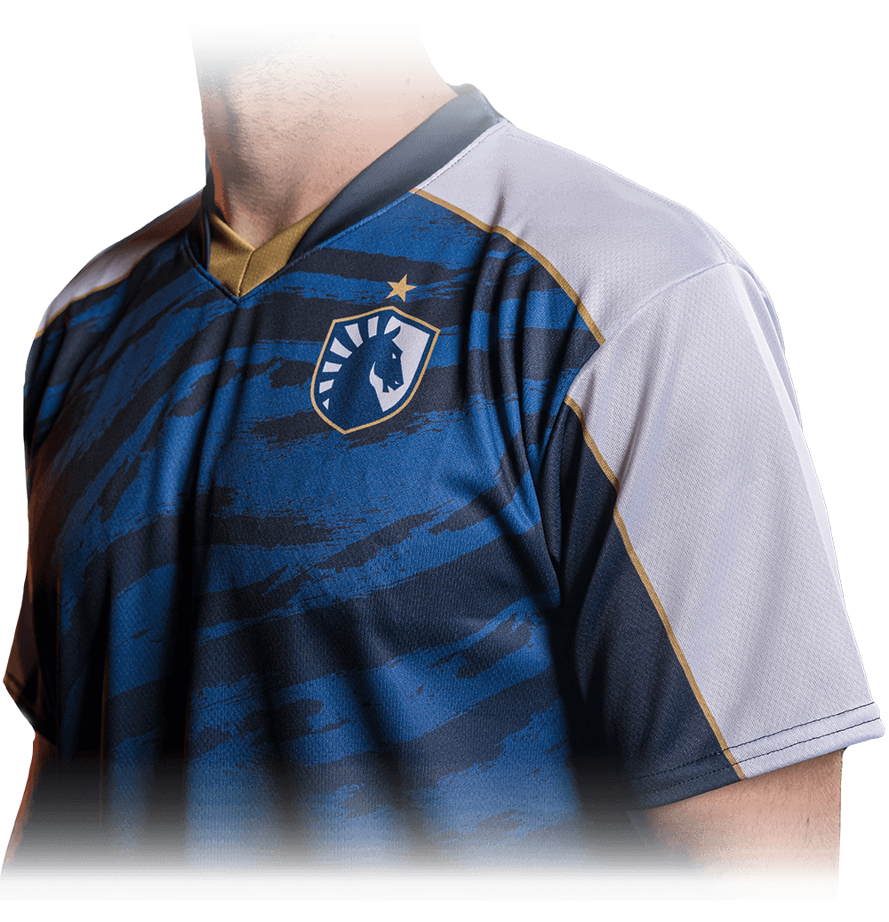 Detail photo of the Team Liquid Dota Jersey for 2019
