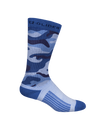 "9"" Synthetic Knit 3-In-1 Socks with EZ Glide"